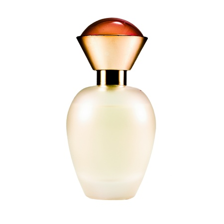 parfume: Perfume bottle isolated on a white background.
