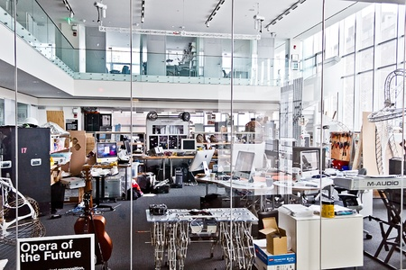 Picture of M.I.T. ( Massachusetts Institute of Technology ) Media Lab