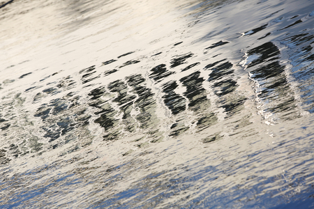 colorful water surface: Artistic Colorful Water Surface Background on the day