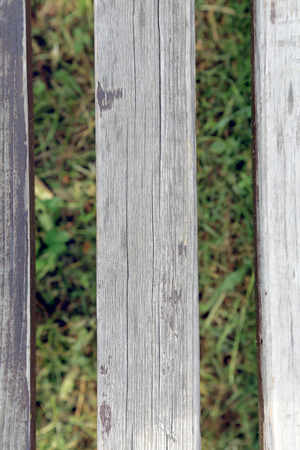 texture of wooden boards from the bench Stok Fotoğraf