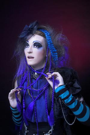 gothic fetish: Gothic girl.