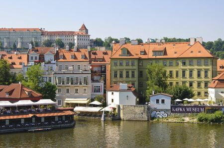 Prague, Czech - 03 July, 2015: The Orifice of the Certovka channel Editorial