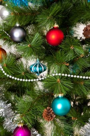 christmastree: Christmas-tree decorations