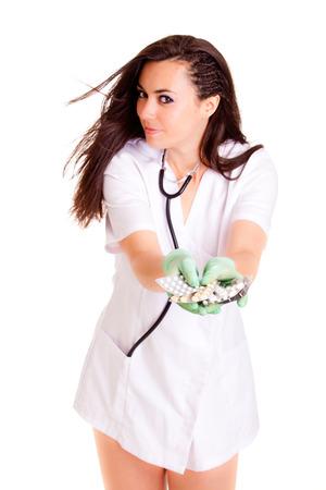 Doktor medical healthcare girl photo