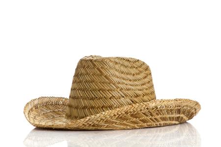 resistol: sombrero mexicano aislado en blanco