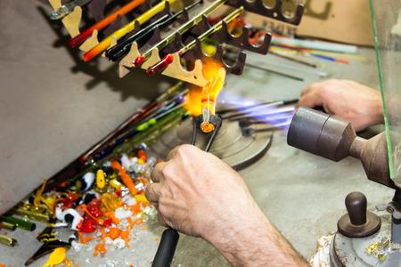 trabajo manual: Figuritas de cristal hecho a mano de cristal trabajo hecho a mano creativo
