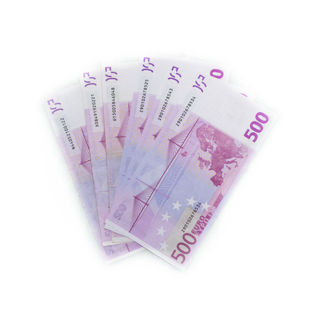european union currency: 500 euro bills  euro banknotes money. European Union Currency