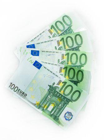 european union currency: 100 euro bills  euro banknotes money. European Union Currency