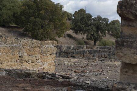 Ruins of Medina Azahara 10th century.