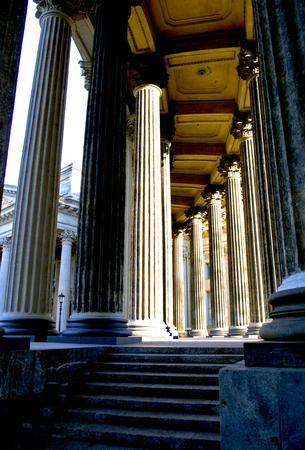 atheism: colonnade
