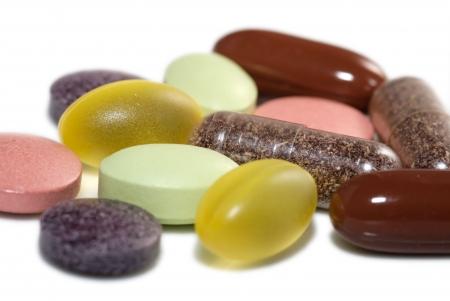 Vitaminas y Minerales  Foto de archivo - 3180181