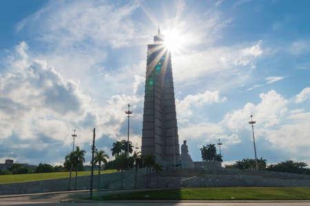 The Jose Marti Memorial. Located on the Revolution Square, in Havana, Cuba