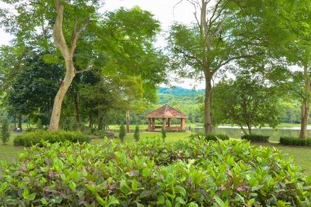 monsoon clouds: Pong-Kon-Sao reservior in Khao-Yai National Park, Saraburi Province Thailand.