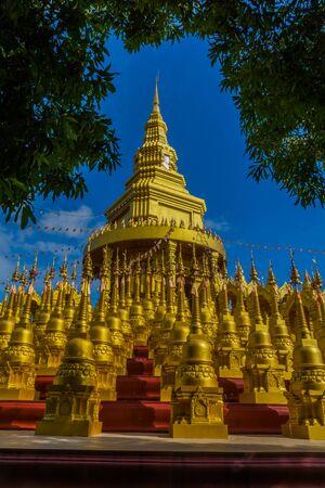 Pagoda in Sawang-Bun temple, Saraburi province in Thailand.