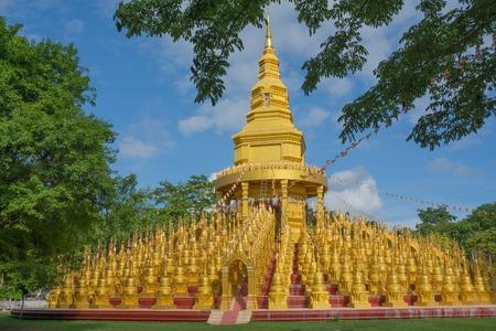 Pagoda in Sawang-Bun temple, Saraburi province Thailand. Stock Photo