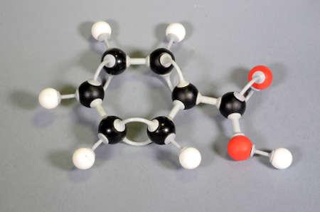 Molecule model of Benzoic Acid