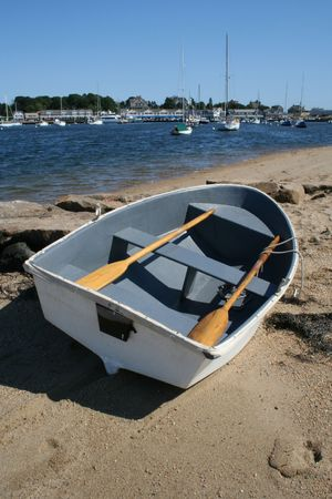 Rowboat on the Beach photo
