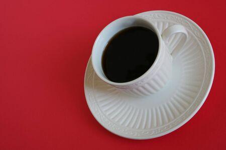 Een kopje koffie Stockfoto