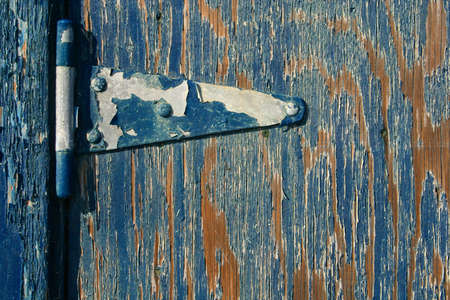 Blue Hinge Stock Photo - 647324