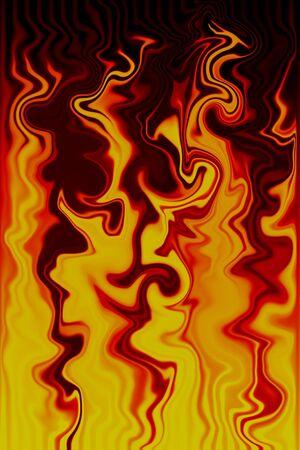 Flame Illustration Stock Photo