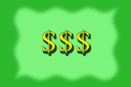 signos de pesos: Dollar Signs