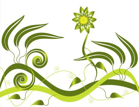 Greenery Goddess Vector