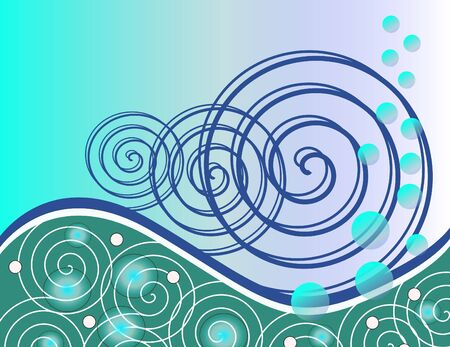Ocean Notion Illustration