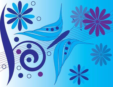 Blue Butterfly Stock Illustratie