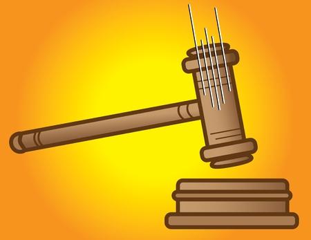 arbitrator: Sentenza Giorno  Vettoriali