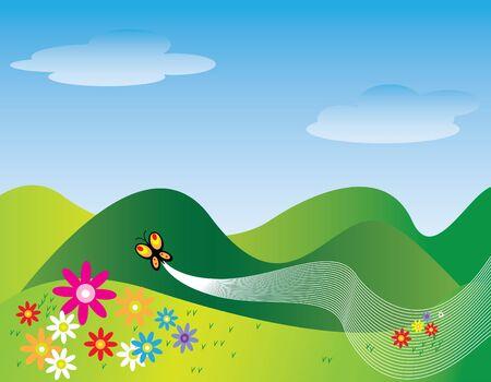 accidentado: Vuelo de la Mariposa