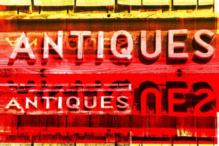 shingles: ANTIQUES  Signs