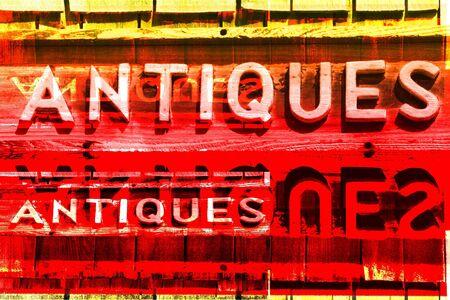 antiques: ANTIQUES  Signs