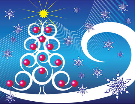 Christmas Tree Wave Vector