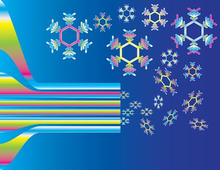 expel: Colorful Snowflake Machine