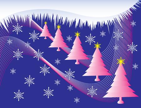 ピンク クリスマス