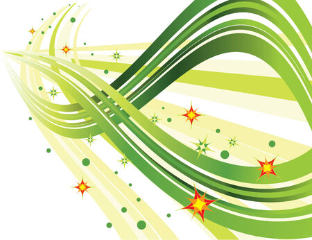Sparkle Trails Vector