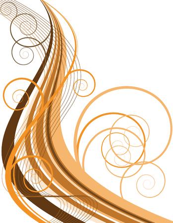 Chocolate Swirl Stock Vector - 3830736