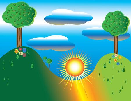 Sun Day Imagens - 3913240
