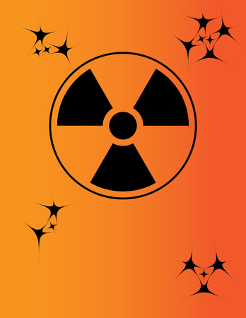 Nuclear Warning Sign Vector