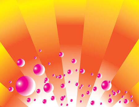 Pink Bubbly Vector