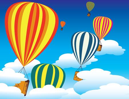 Balloon Festival Stock Vector - 4343264
