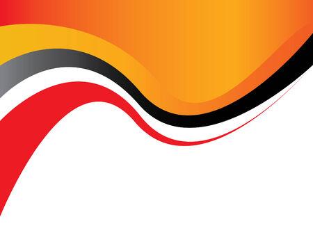 red swirl: Warpaint Wave