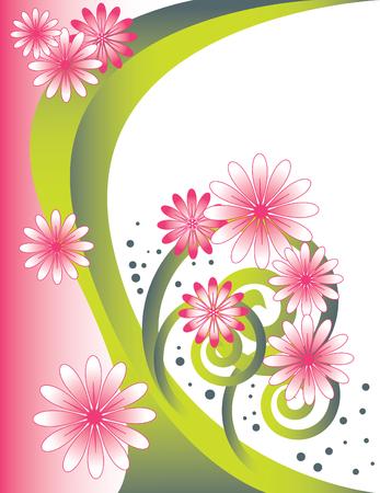 flora vector: Floral Arch