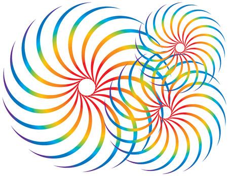 Spectrum Spinners Vector
