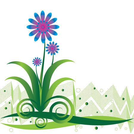 푸른 꽃 장난
