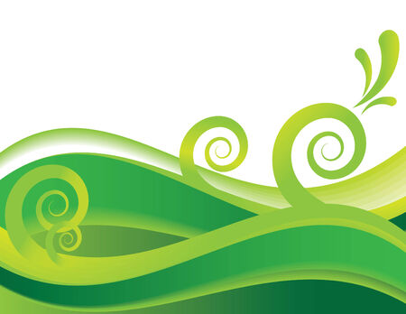Sea of Green Stock Vector - 4944000