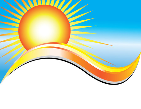 Sunny Day Presentation  Stockfoto - 5249363
