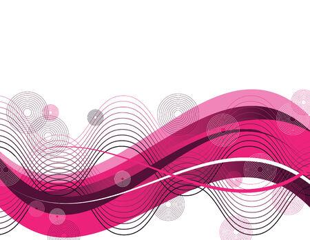 wave: Pink Retro Wave