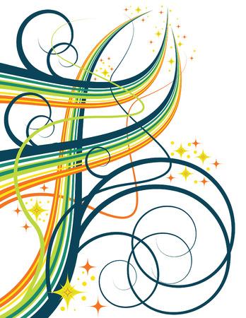Swirl Magic Ilustração