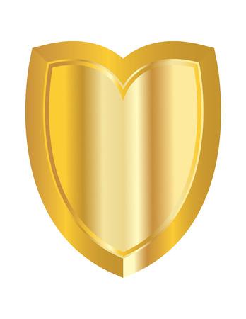 Golden Shield Ilustração